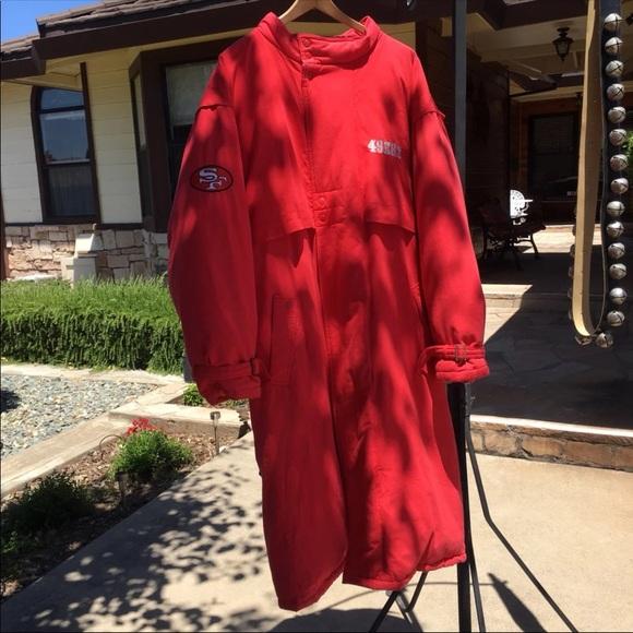 timeless design 0d9fb a95ed vintage 49er's coat